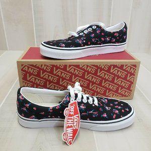 VANS Era Ditsy Floral Womens 8.5 Sneakers